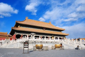 Palace of Heavenly Peace, The Forbidden City, Beijing, China