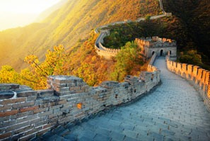 Mutianyu Great Wall fall colors