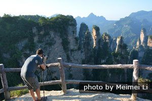 Touring Zhangjiajie with us