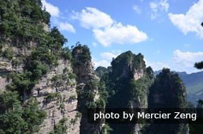 yangjiajie in zhangjiajie forest park