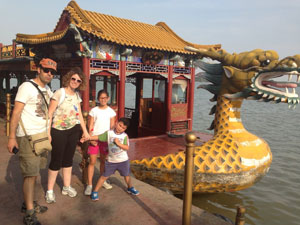 Touring the Summer Palace with us.