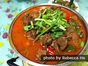 Spicy local food, Zhangjiajie