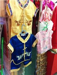 Silk clothes in China
