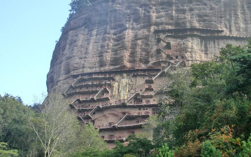 The Maijishan Grottoes: Cliffside Caves Full of Art
