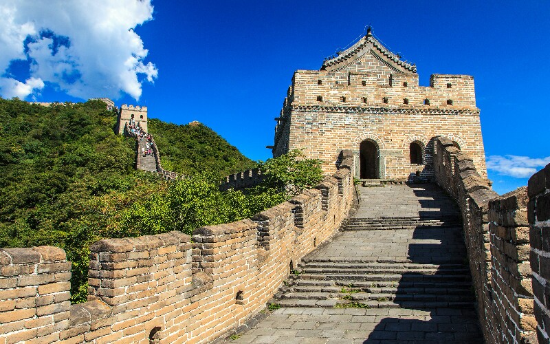 The Shuiguan Great Wall Section