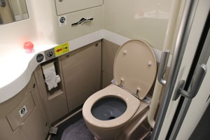 Toilets on Chinese Trains