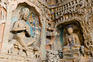 The Yungang Grottoes' sculptures