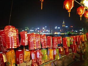 Mid-Autumn Festival lanterns, Hong Kong