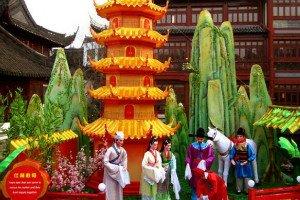 Shanghai City God Temple Fair