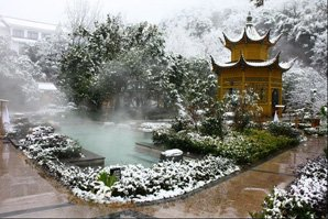 Hot Springs of the Yellow Mountains