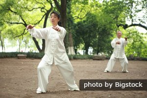 Watching Tai Chi