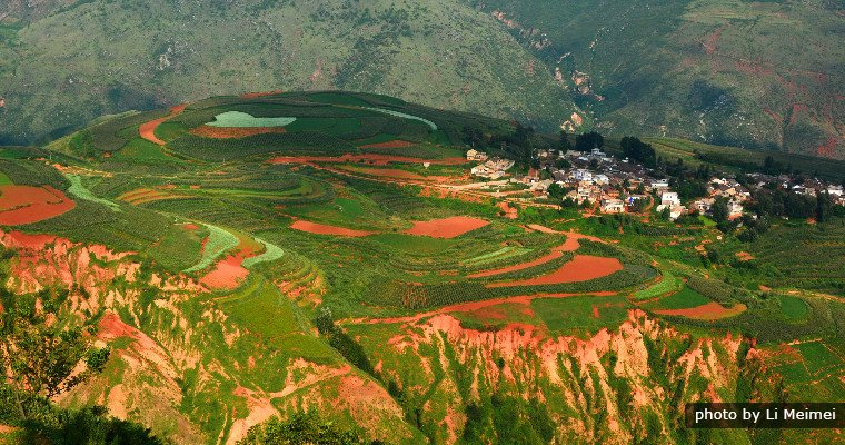 Sunset Valley, Dongchuan Red Land