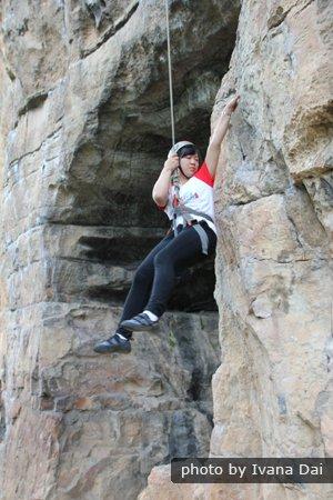 Yangshuo rock climbing