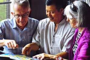 Learning Chinese can help with life in China