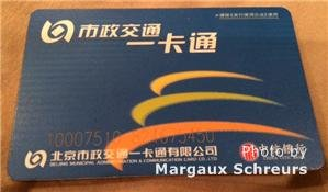 Beijing Subway Card
