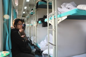 Overnight  Train in China — Hard/Soft Sleeper: Tips