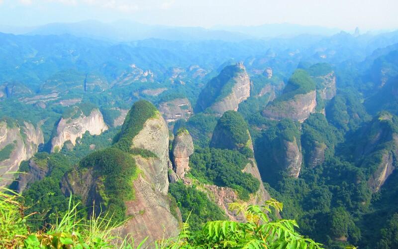 Taining Danxia Landform