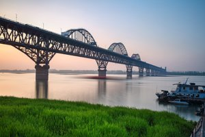 The Yangtze River bridge