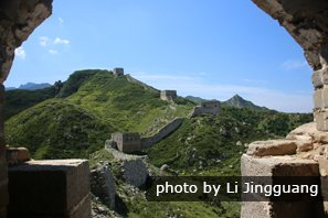 the great wall in summer