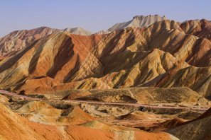 Colorful Zhangye Danxia