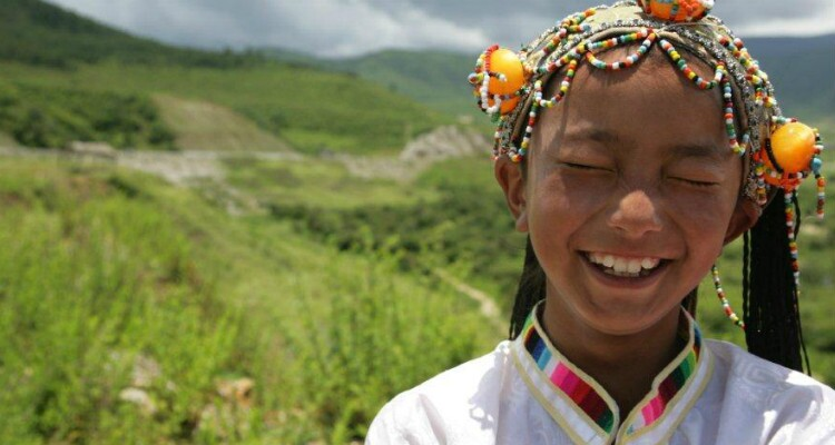 Tibetan People in Shangri-la