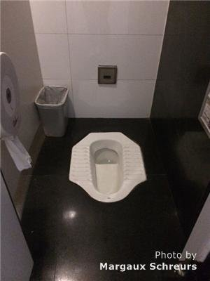 How to Use a Squat Toilet in China