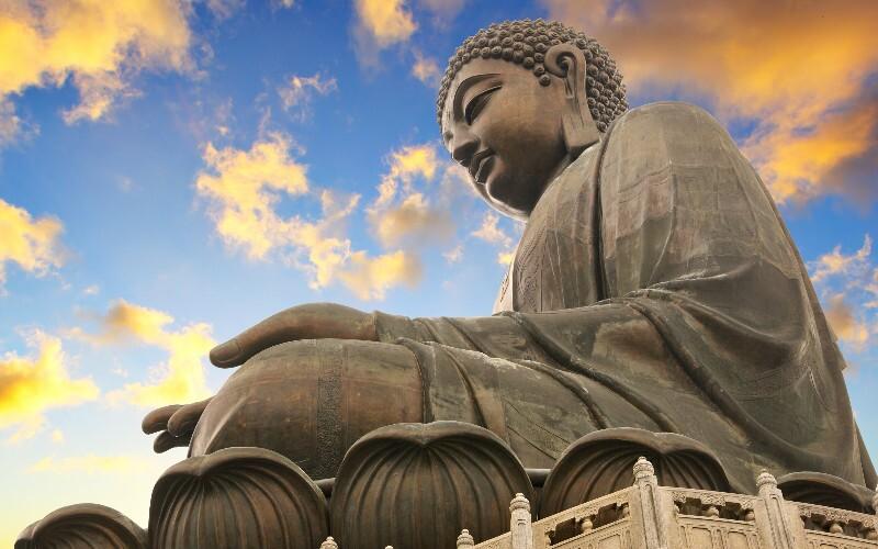The Tian Tan Buddha and Po Lin Monastery