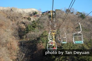 Chairlift, Mutianyu Great Wall