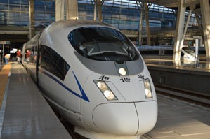 China overnight bullet train