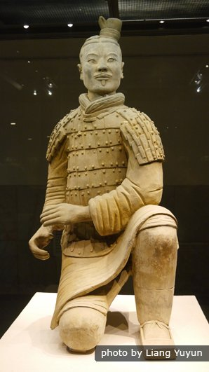 terracotta warrior details