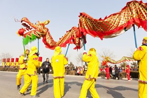 Chinese New Year Dragon Dances