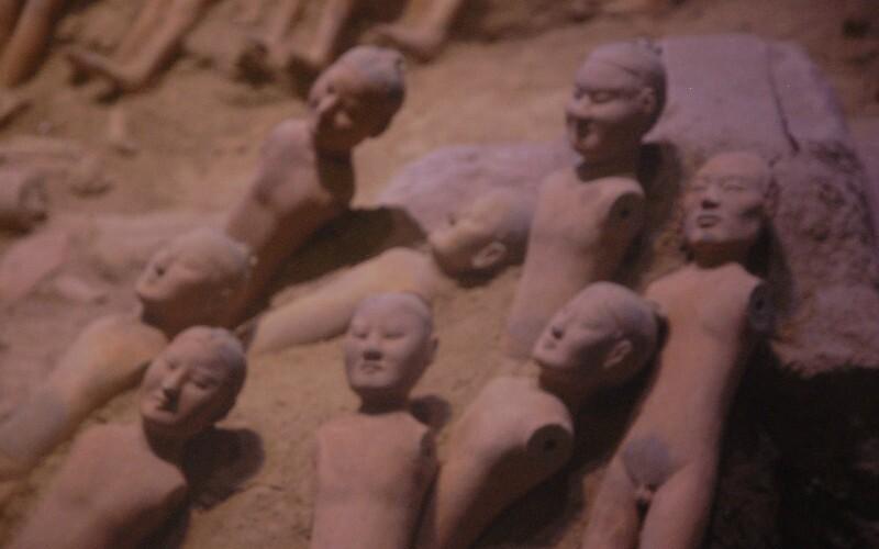 Terracotta Warriors in Weishan