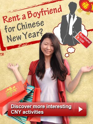 rent a boy friend for Chinese new year
