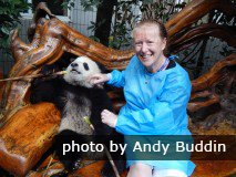 Lynne and panda