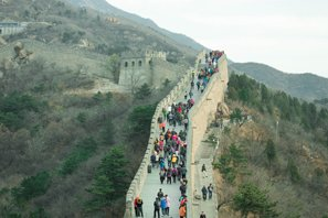 Badaling — the Most crowded Great Wall Section