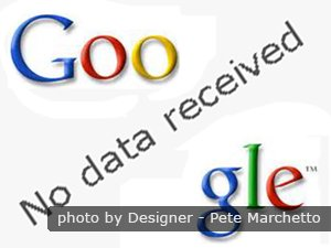 Google no data received