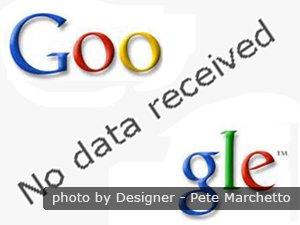 Google no data received