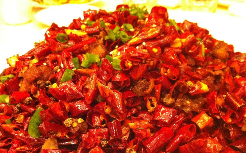 How to Cook Diced Chicken with Chilies