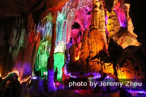 Guilin day tour to Reed Flute Cave