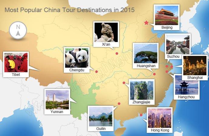 popular destinations 2015