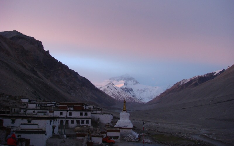 Hiking from Tingri to Mt. Everest Base Camp