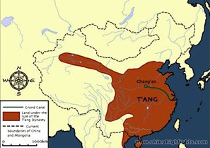 The Tang Dynasty Map