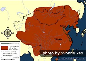 The Yuan Dynasty Map