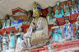 Dazu Rock carvings close to Chongqing