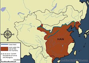 The Han Dynasty Maps