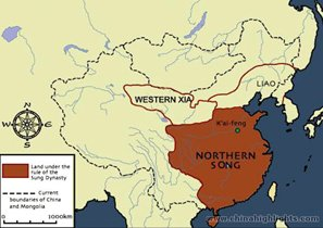 The Northern Song Dynasty Map
