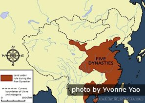 The Five Dynasties Map