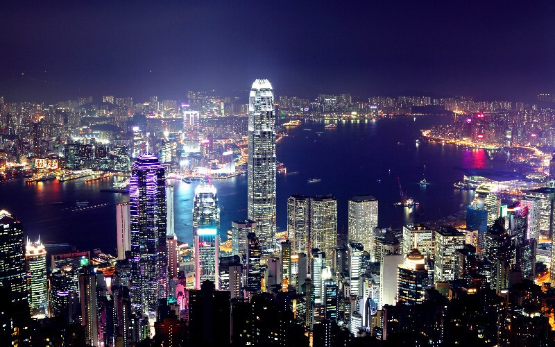 The Symphony of Lights in Hong Kong