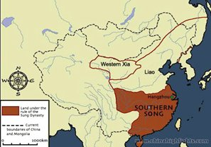The Southern Song Dynasty Map