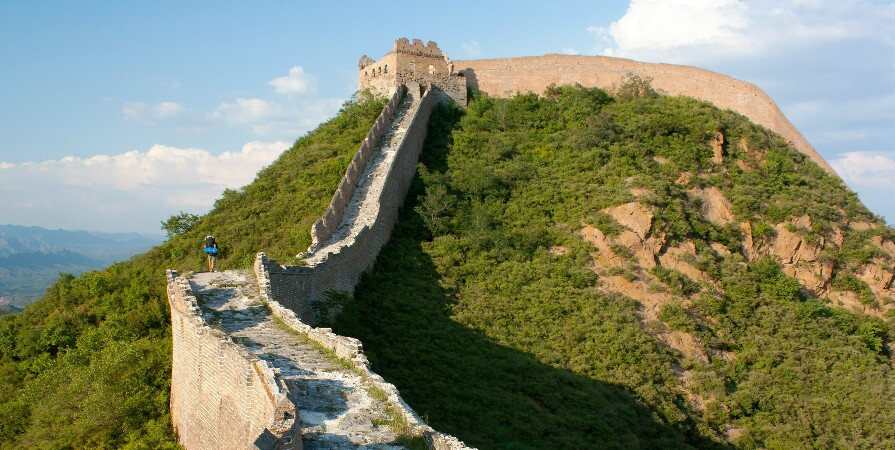 top places to visit in China, the Great Wall